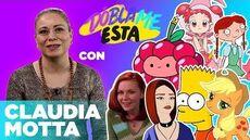 Claudia Motta Entrevista con la voz de Bart Simpson, Applejack y Mary Jane
