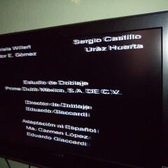 Créditos del Videocassette (3)
