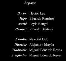 Doblaje Latino de El Libro de los Dragones