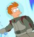 Fry astronauta en la bestia con billones de brazos