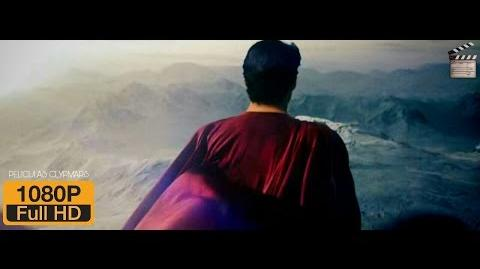 Man Of Steel escena el traje Español Latino Full HD