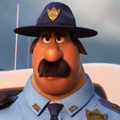 Polícia en <a href=