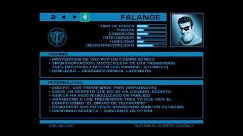 ARCHIVOS SECRETOS DE LA ANS Falange (Phylange)