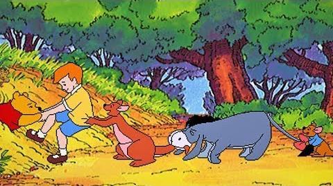 Disney Libro Animado Interactivo Winnie Pu y el Árbol de la Miel (1995)