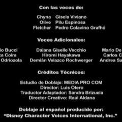 Créditos de Doblaje (2da Temproada)