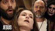 Jesús Caifás asesina a Adela incitado por Satanás