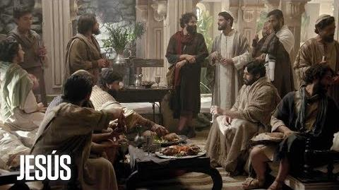 Jesús Jesús y sus 12 apóstoles visitaron la casa de Simón