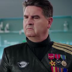 General Burke en <a href=