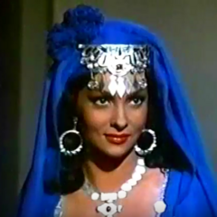 Reina de Saba (Gina Lollobrigida) en <a href=