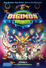 Monstruos Digitales: Digimon, la película