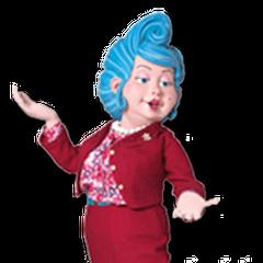 Srta. Bessie Busybody en <a href=