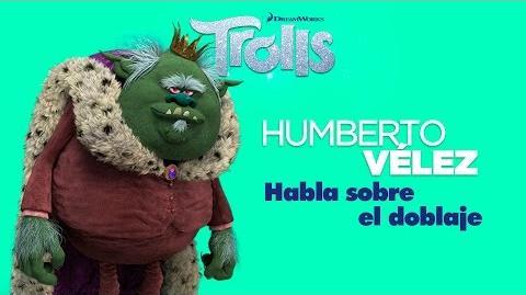 Trolls – Doblaje de la película Humberto Vélez habla del doblaje