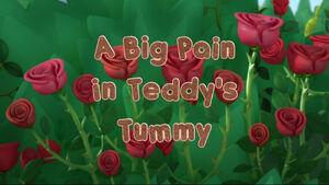 A Big Pain in Teddy's Tummy