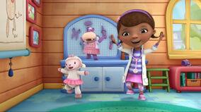 Doc, lambie and hallie singing