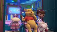 Winnie the pooh gets surprised