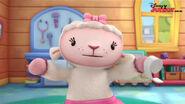 Lambie in mcstuffins school of medicene