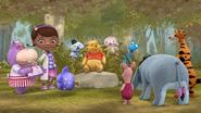 Doc McStuffins meets Winnie the Pooh