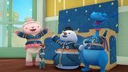 Lambie, stuffy, chilly and darla 'boo-ya!'
