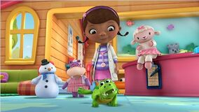 Doc McStuffins and Gustov