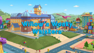 Willow's wonky whiskers title