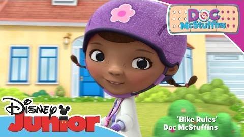 Doc McStuffins - Bike Rules Official Disney Junior Africa