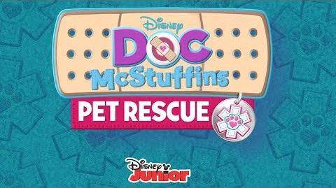 Pet Rescue Music Video Doc McStuffins Disney Junior