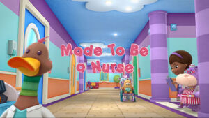 Made to be a nurse title