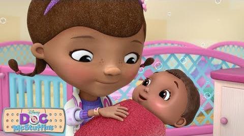 Baby Bath Time! Doc McStuffins Disney Junior