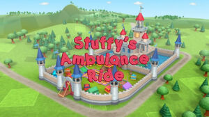 Stuffy's ambulance ride title