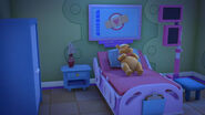 Winnie the pooh in the recovery room