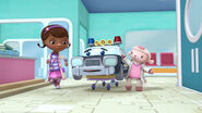 Doc, lambie and officer pete
