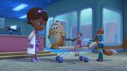Doc, charlie, dress up daisy and darla
