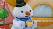 Chilly having tea