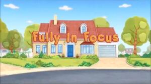 Fully in Focus