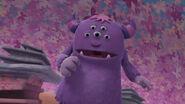 Purple monster from doc mcstuffins