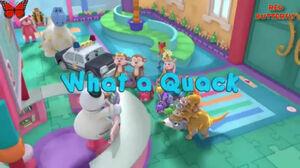 What a quack title