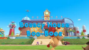 Bouncy house boo boos title