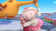 Lambie and piglet