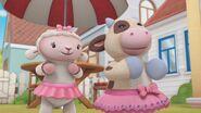 Lambie and Moo Moo