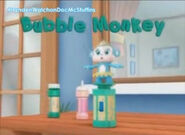 Bubble Monkey
