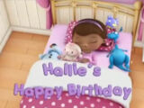 Hallie's Happy Birthday