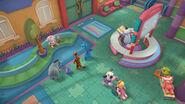Toy hospital lobby3