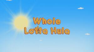 Whole Lotta Hula Title
