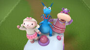 Lambie, stuffy and hallie