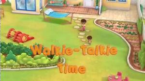 Walkie-Talkie Time