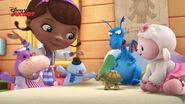 The toy gang singing just say hi