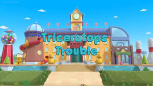 Triceratops trouble title