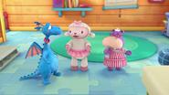 Stuffy, Lambie and Hallie