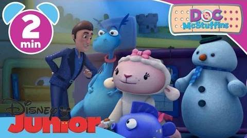 Doc McStuffins Dimitri the Dazzling! Disney Junior UK