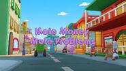 Mole money, mole problems title